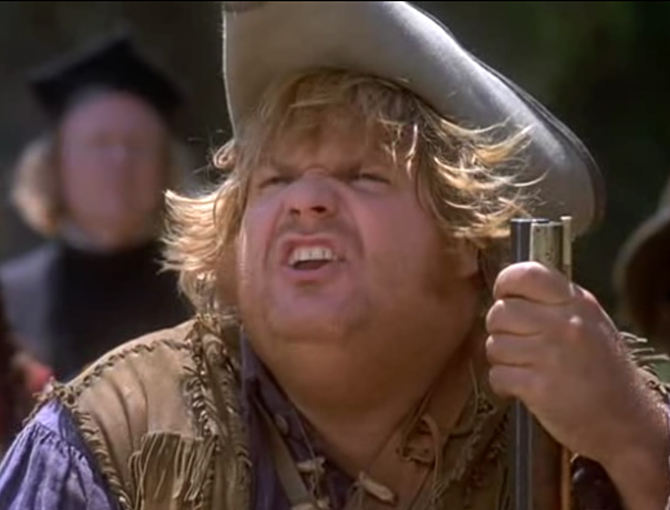 Chris Farley Almost Heroes Quotes. QuotesGram